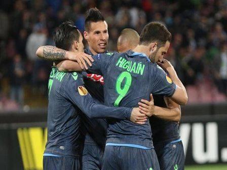 Soccer: Europa League; Napoli-Wolfsburg