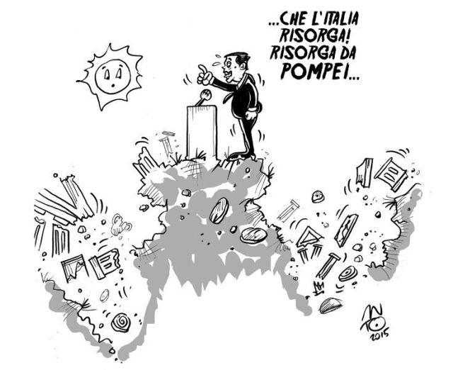 Renzi visita Pompei