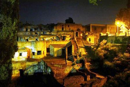 pompei notturna
