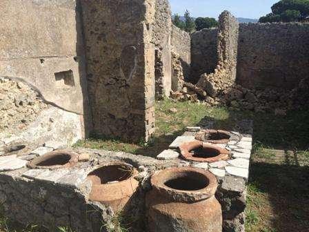 Pompei crollo
