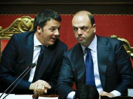 Matteo Renzi_Angelino Alfano