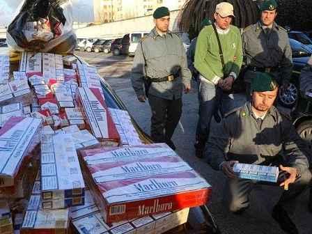 contrabbando sigarette