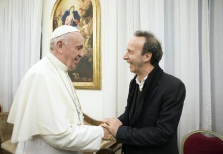 papa Bergoglio Benigni