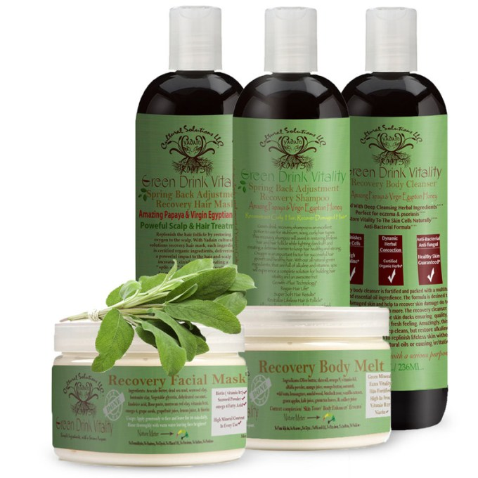Green Drink Vitality Hair & Body Collection