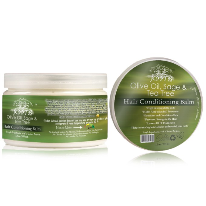 Olive Oil, Sage & Tea Tree Hair Butter Treatment 12oz
