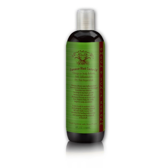 Jamaican Black Castor Oil Omega 9 Scalp Reform
