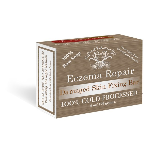 Eczema Repair Raw Signature Soap