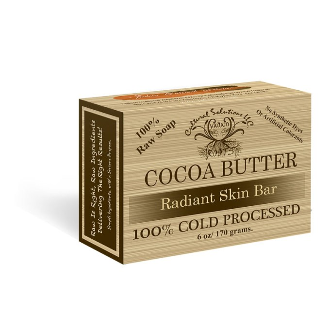 Cocoa Butter Radiant Skin Bar