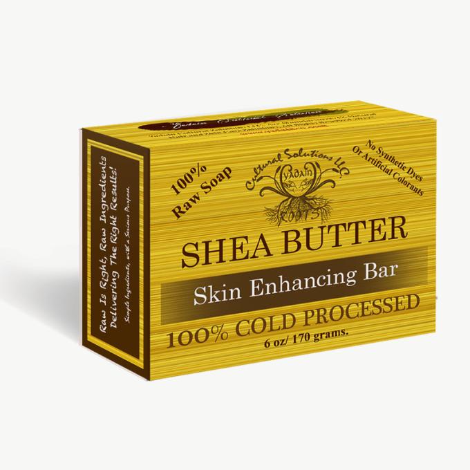 Raw Shea Butter Soap Organic