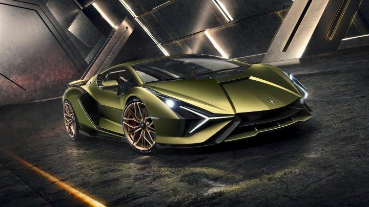 Lamborghini Sián - Hybrydowy i limitowany
