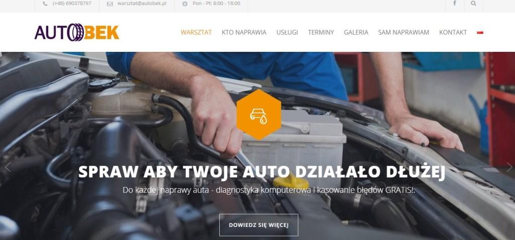 Warsztat samochodowy AUTOBEK w Warszawie
