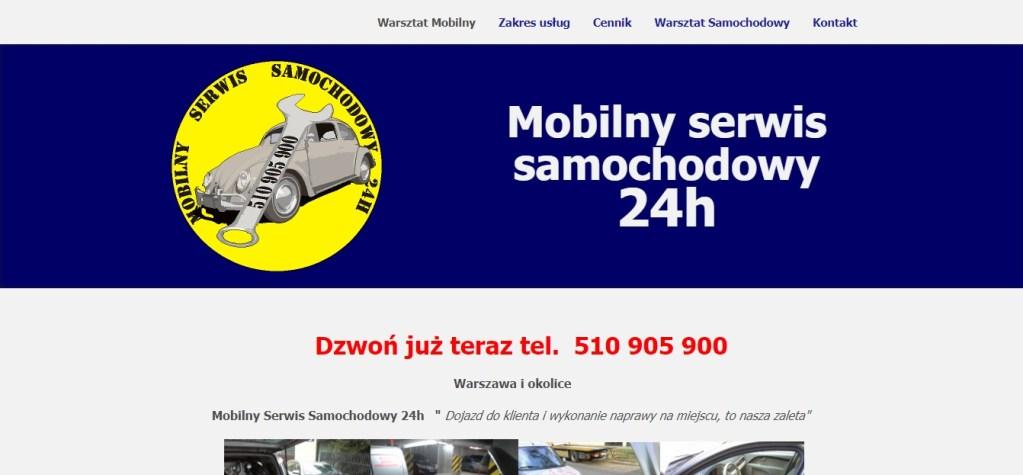 Mobilny Serwis Samochodowy - Warszawa