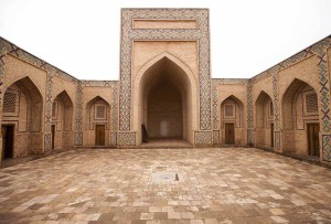 Courtyard of Ulugh Beg Madrasah