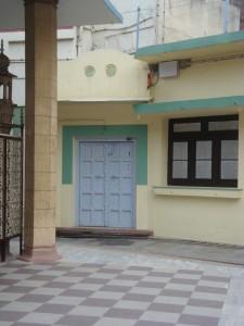 Door to the martyrdom room