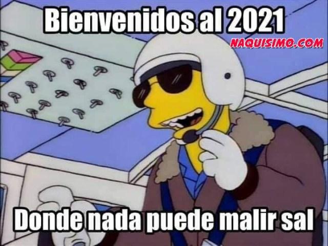 Memes de inicio de año 2021