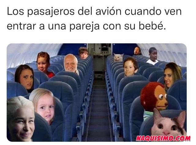 Memes de viajar en avion