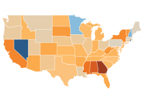U.S. Map: Jobless Claims