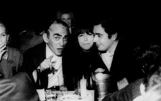 Leão, Cacá Diegues e Samuel Wainer (anos 60)
