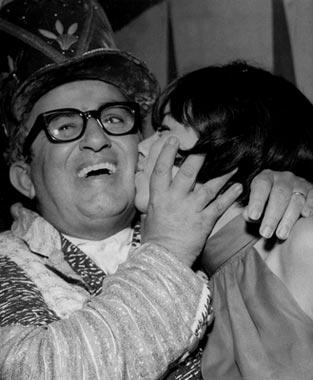 Nara Leão e Chacrinha, 1966