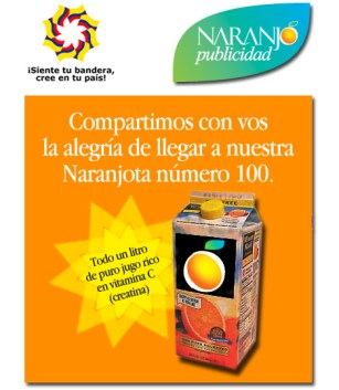 Naranjota100