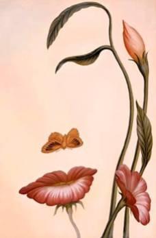 Rostro o flores