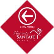 Señal entrada Hacienda Santafé
