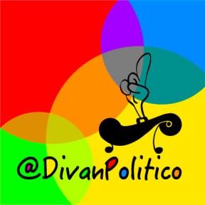 Logo @DivanPolitico mano combinada
