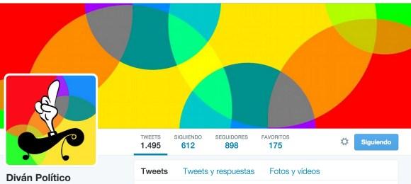 Cuenta Twitter Diván Político