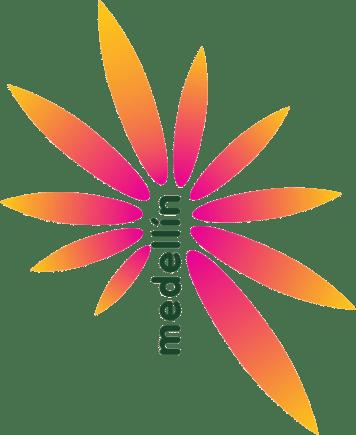 Logo Marca Ciudad Medellín