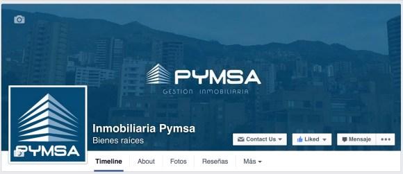 Cuenta Pymsa Facebook