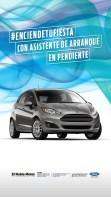 Publicidad de Ford Fiesta de El Roble Motor