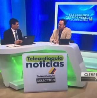 Transmisión Elecciones Presidenciales con análisis Carlos Naranjo.