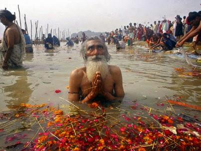 Para Peserta Kampanye di Hindu Samekhya Sammelan