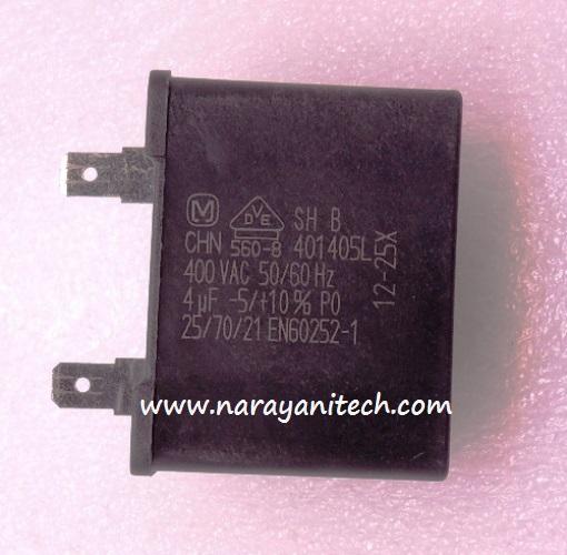 Vs Capacitor Transistor