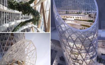 Rendering Torre Unipol: Porta Nuova
