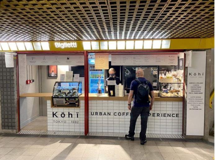 Caffetteria Giapponese in Metro a Milano