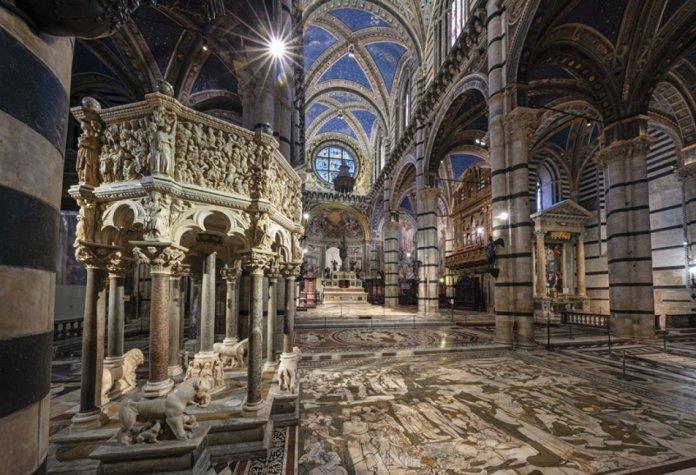 Siena: pavimento della Cattedrale
