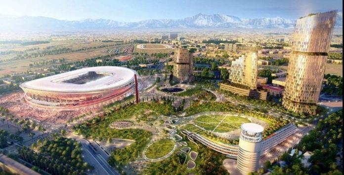 Nuovo Stadio di S. Siro: rendering