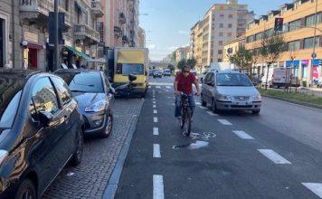 Ciclabili nuove a Milano