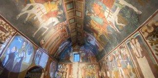 Valle d'Aosta: affreschi.