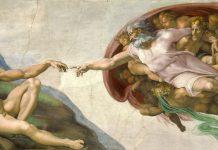 Michelangelo: La creazione di Adamo