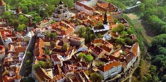 Tallin: la città vecchia.