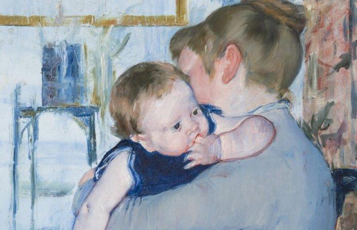Mary Cassat: madre e figlio