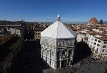 Viaggio in Italia con gli occhi di Dante.Il Battistero di Firenze. Luogo del battesmo del sommo poeta
