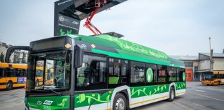 Bus elettrici a Milano