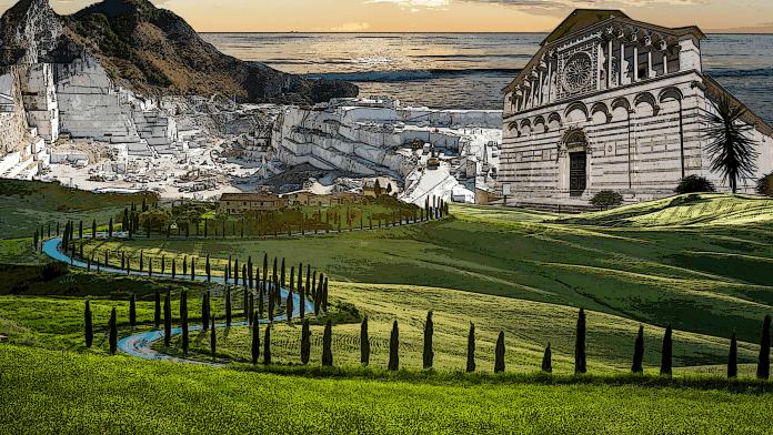 Week end in Toscana. Tra antichi Liguri, cave di marmo e costa della Versilia.