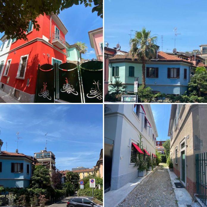 Architetture insolite. E' il nuovo itinerario guidato Narciso d'Autore. Tra gli altri il quartiere Arcobaleno, la Casa 770, il Liberty e molto altro.