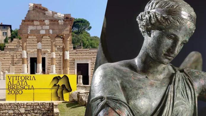 La Vittoria Alata di Brescia. Visita guidata alla statua e agli scavi archeologici dell'antica Brixia