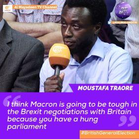 Moustafa Traore Kalima Horra UK-French elections Almayadeen George Galloway Narcissi
