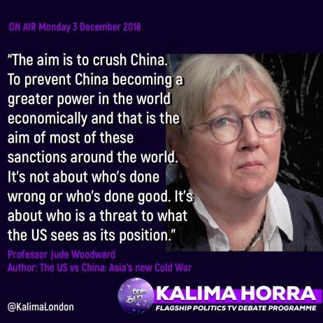 US sanctions against Dollar hegemony Dr Jude Woodward